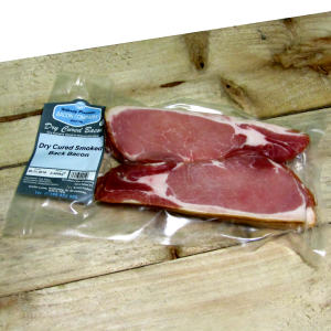 Gloucestershire Dry Cured Smoked Back Bacon 0.400kg