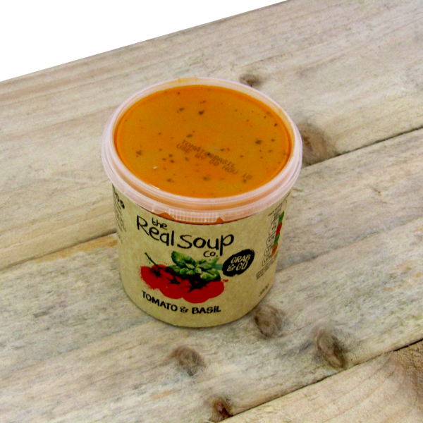 TRSC Tomato and Basil Soup 6 x 380gm **Pre order only**