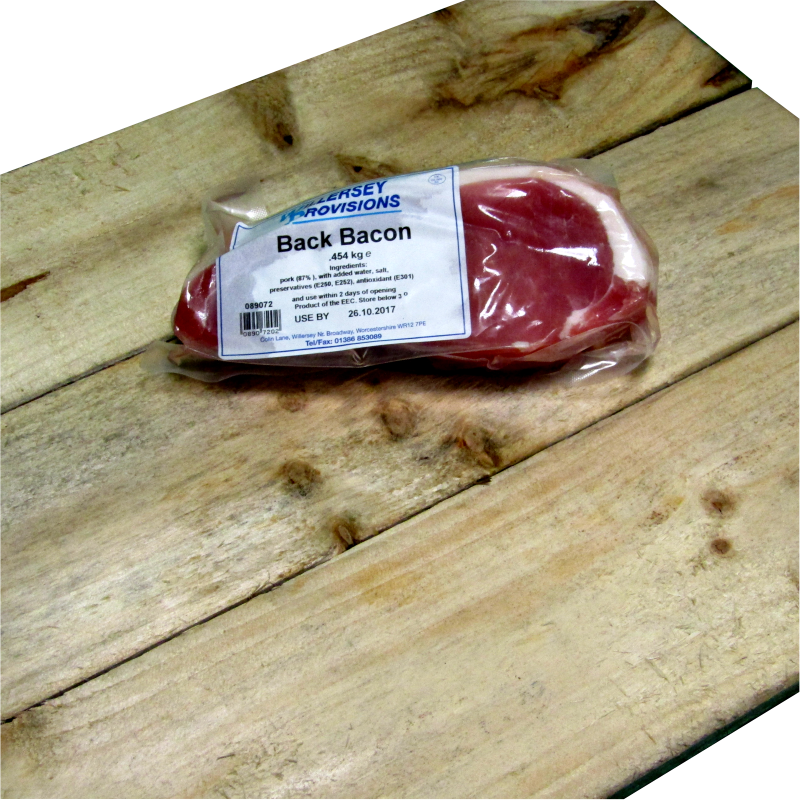 Back Bacon 0.454kg  (1lb)