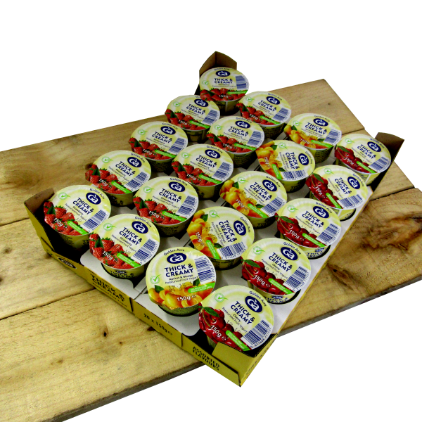 Thick and Creamy Assorted Fruit Yoghurts 20 x 150gm