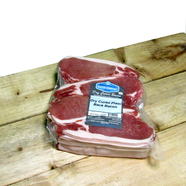 Gloucestershire Dry **PLAIN** Cured Back Bacon 2kg