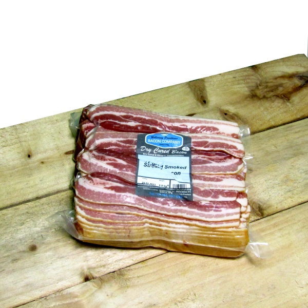Gloucestershire ** SMOKED **Dry cured streaky bacon 2kg