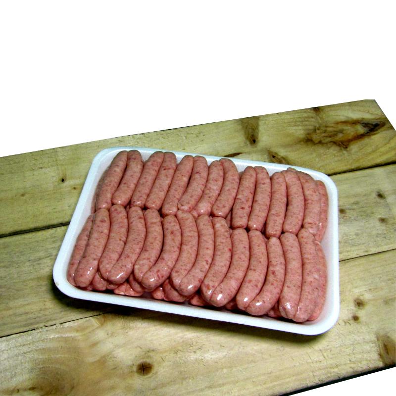 Fresh Pork Sausages (5lb) 2.27kg 16's Chipolatas *PRE ORDER ONLY*