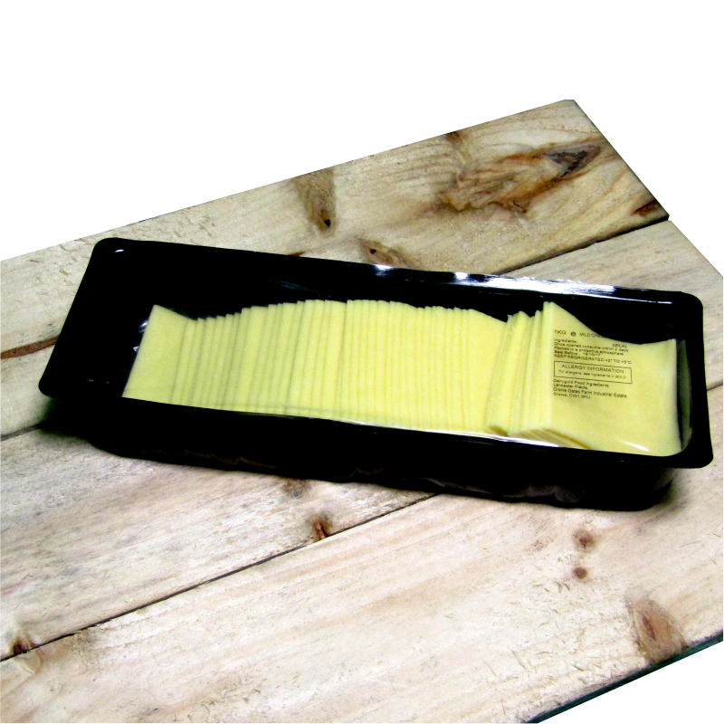 Mature Cheese Slice 1kg Cheese  (50 slices per pack approx)