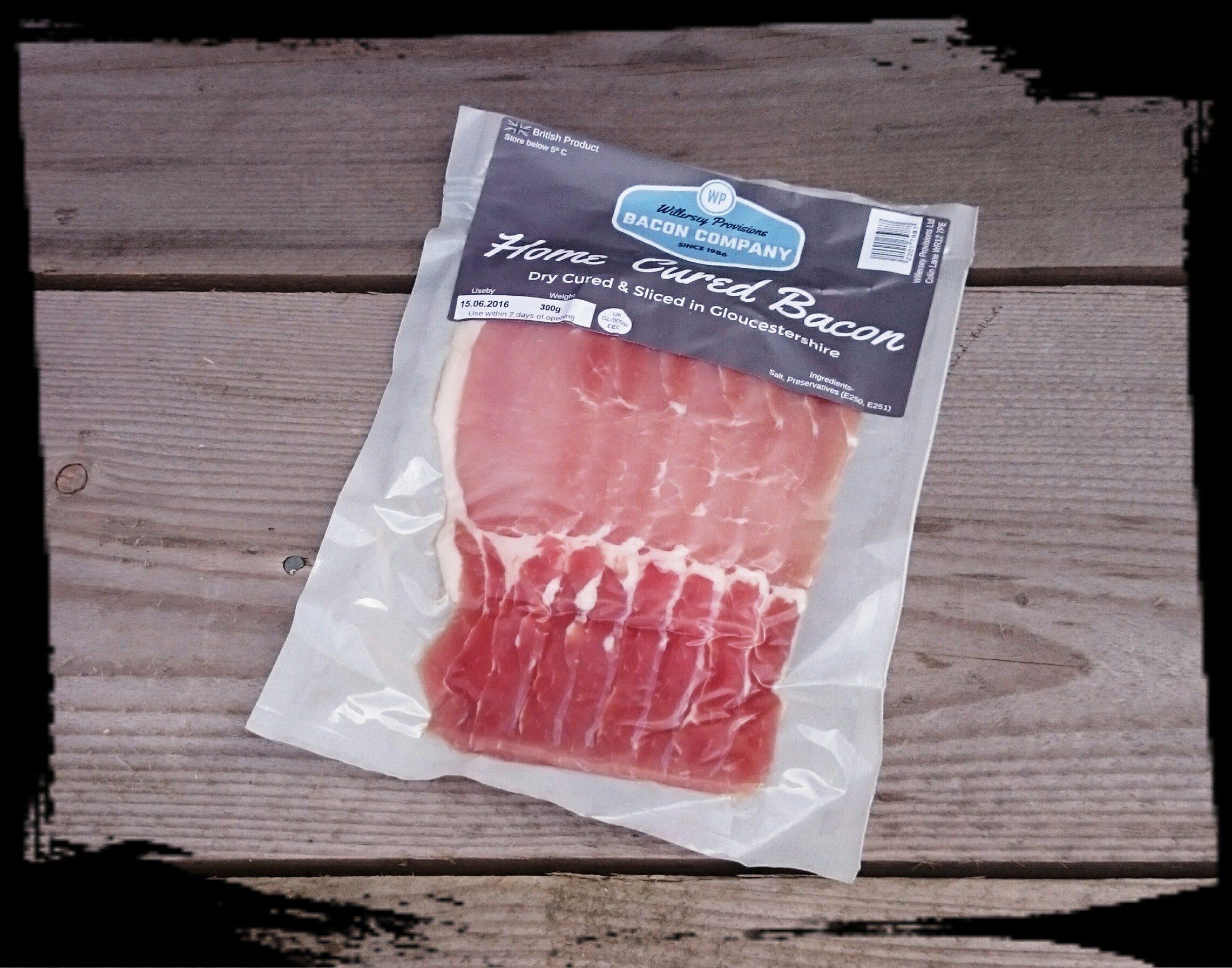 Gloucestershire Dry Cure Back Bacon 10 x 300g