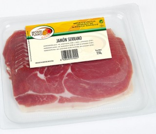 Serrano Sliced Ham 500g