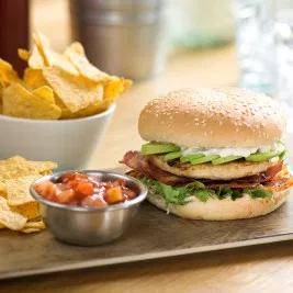 T/S (1676) Grill Burger Bun x 48 **Frozen**