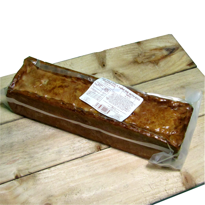 Gala Pork Pie (with egg) 3kg