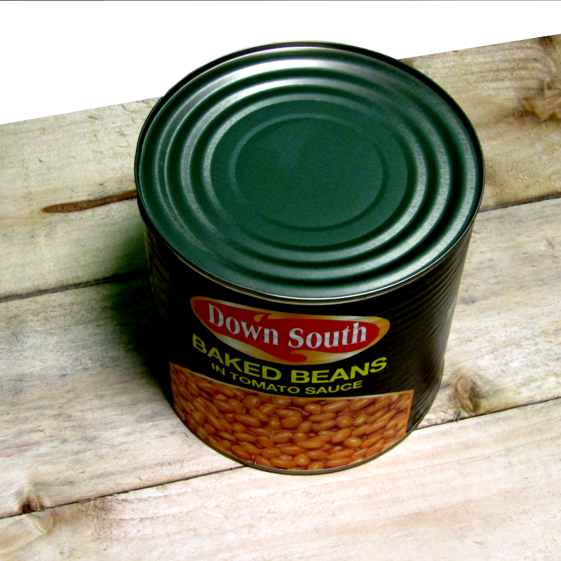 Baked Beans tins 6 x 2.61kg Down South