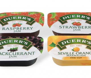 Duerrs Assorted Jam Portions 96 x 20g
