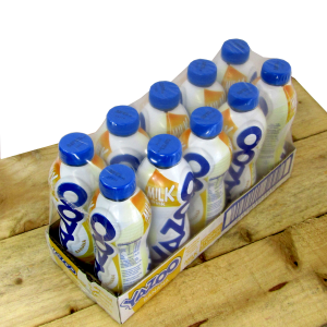 Banana Yazoo milk shakes 10 x400ml