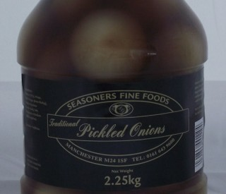 Pickled Onions 2.25kg Seasoners
