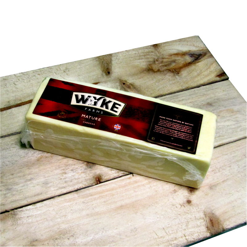 Wyke Farms Mature Cheese 2.5kg