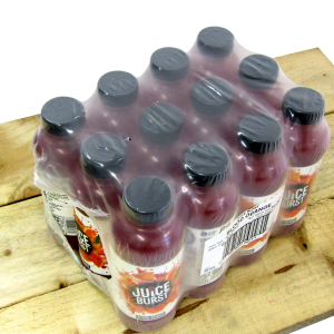 Juice Burst Drinks 12 x 500ml Blood Orange