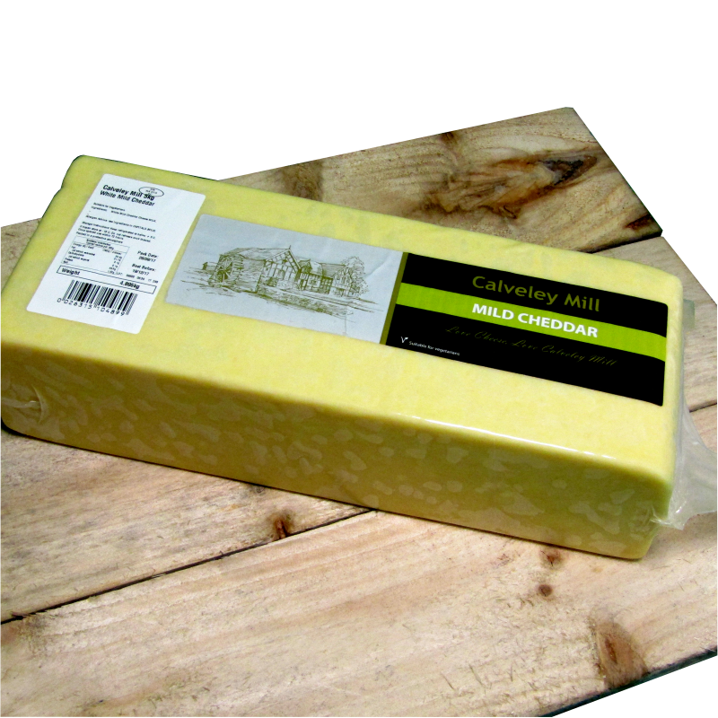 Mild Cheese Block (10lbs) 5kg
