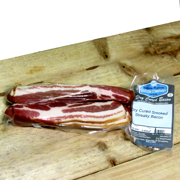 Dry Cure Gloucestershire ** Smoked**Streaky Bacon 0.400kg