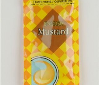 English Mustard Sachets 200 x 8g