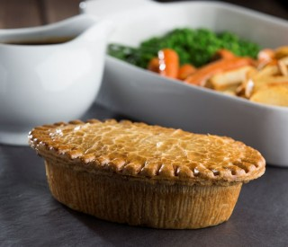 Family Chicken & Ham Pies x5 (wrapped)