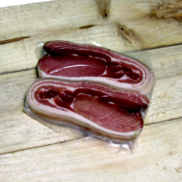 Sliced Flitch Middle Bacon 500g Packs