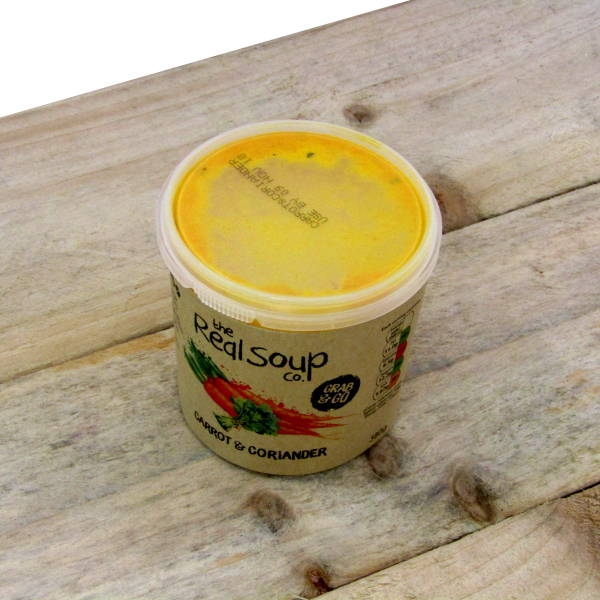 TRSC Carrot and Coriander Soup 6 x 380gm **Pre order only**